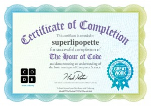 Certificat de code