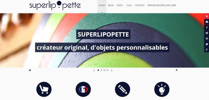 Site internet Superlipopette.net